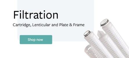 Banner showing filtration options