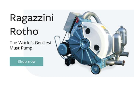 Banner showing Ragazzini peristaltic pumps