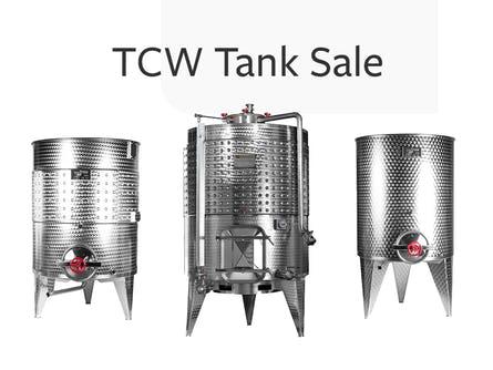 TCW Tank Sale Banner